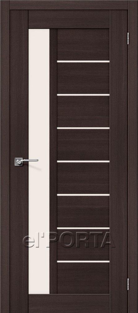 Межкомнатная дверь ПОРТА Х-27 Wenge Veralinga