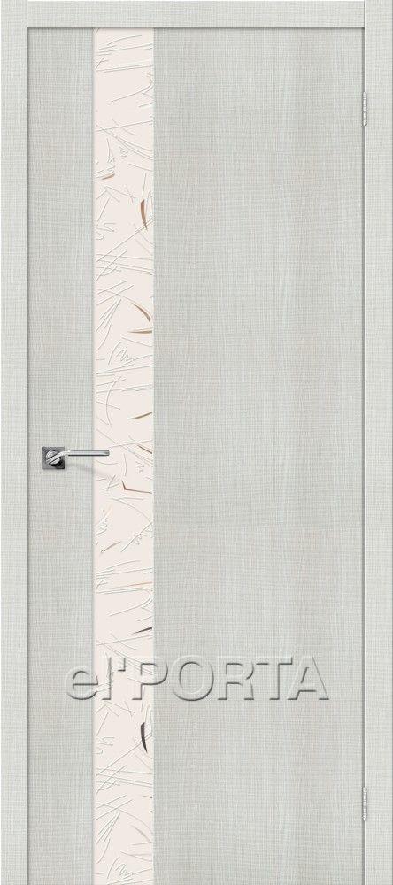 Межкомнатная дверь ПОРТА Z-51 BIANCO CROSSCUT