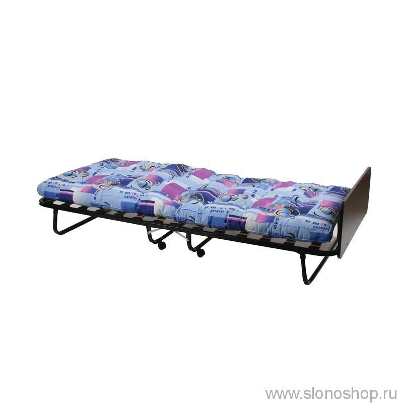 Кровать раскладная LeSet 205 с колесиками (900 x 2000 x 430 мм) 120кг