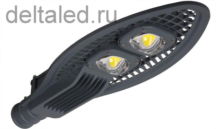 Уличный светодиодный светильник Дельта-100 Кобра 100Вт, 12000 лм