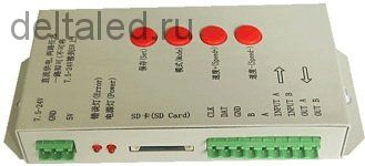 Контроллер управления пикселями цифровыми светодиодными T-1000S  (Pixel control)
