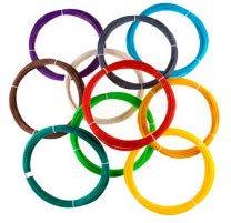 Набор «Стандарт» из 10 цветов пластика ABS/PLA по 10 метров