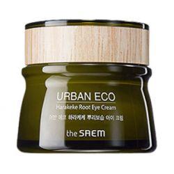 The Saem Urban Eco Harakeke Root Eye Cream 30ml - увлажняющий крем для век с экстрактом корня новозеландского льна