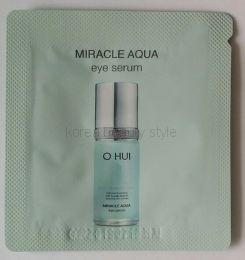 O HUI MIRACLE AQUA eye serum - увлажняющая сыворотка/серум для области вокруг глаз (пробник 1мл)