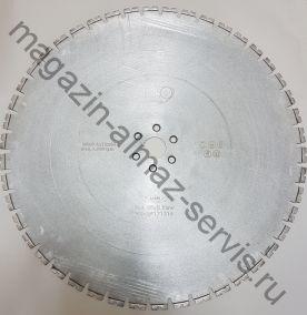 Алмазный диск LASER STANDART ⌀ 600 мм. для стенорезных машин HILTI 20-32 кВт