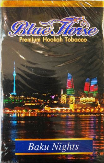 Табак для кальяна Blue Horse - Baku Nights
