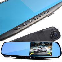 Зеркало-видеорегистратор Vehicle Blackbox DVR,с камерой заднего вида!
