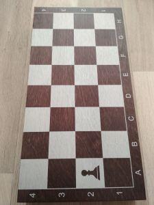 Игра 3 в 1 малая венге (нарды, шахматы, шашки)
