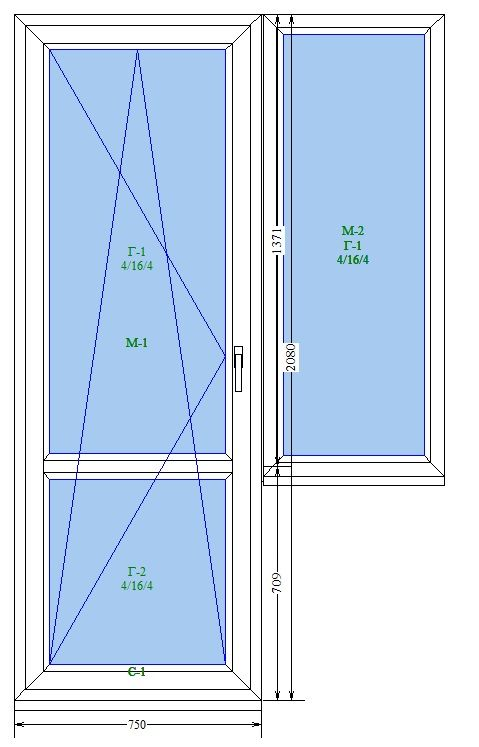 Маленький балконный блок под ключ
