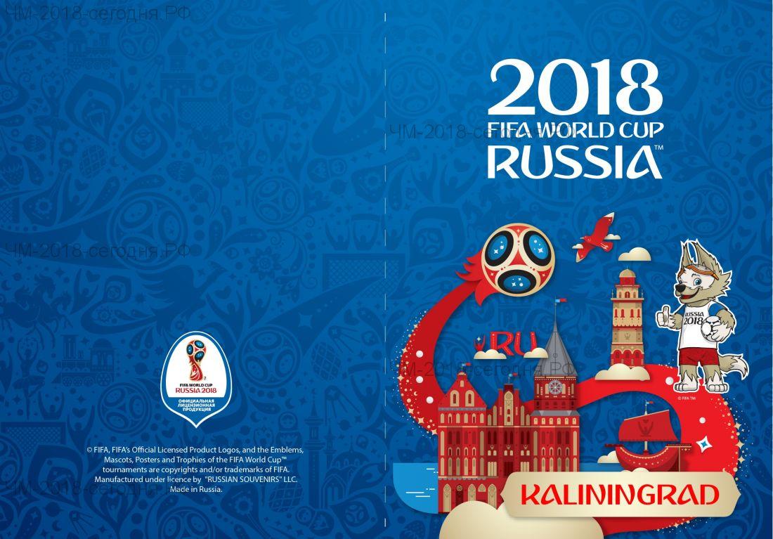 Обложка для паспорта Калининград