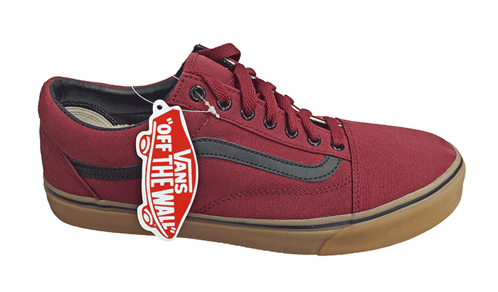 Кеды VANS Old Skool bordo