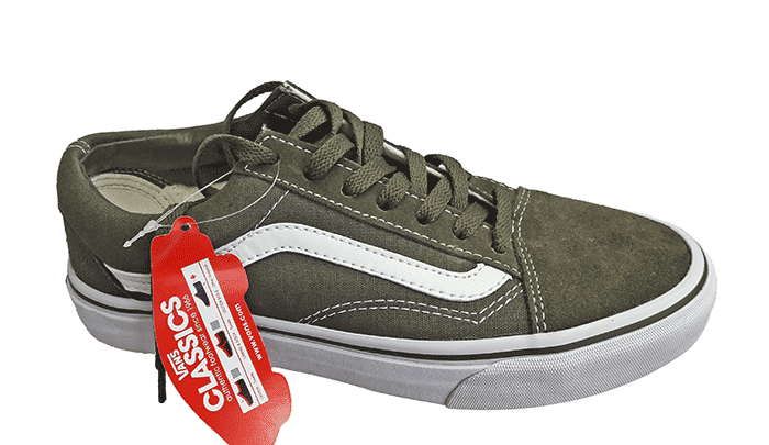Кеды VANS Old Skool dark green