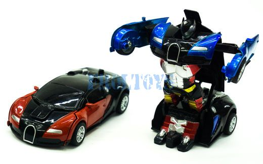 Машинки трансформеры инерционные
