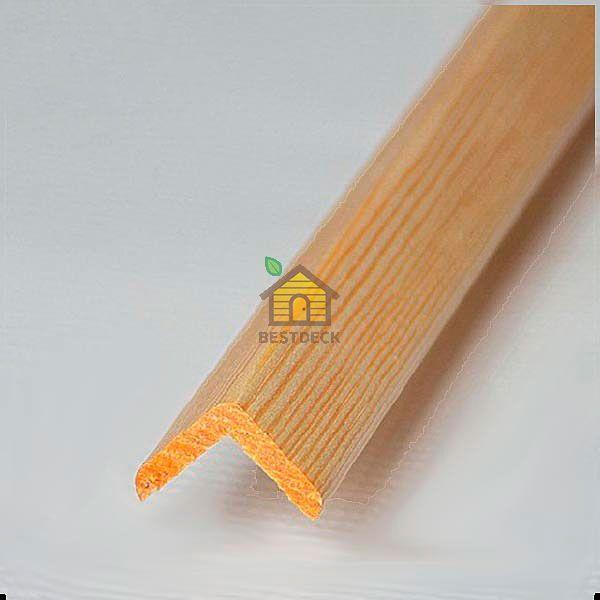 Уголок сосна (без сучков) (Ширина: 40 мм.)
