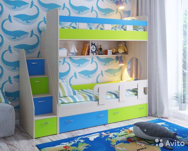 Кровать двухъярусная ЮНИОР 1