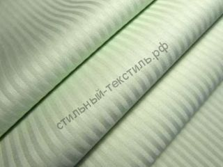 Сатин-страйп полоса 0,3 см (лайм)