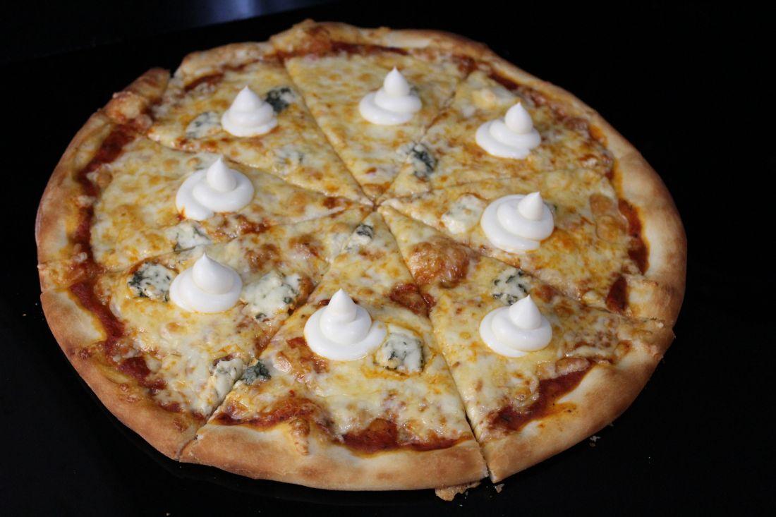 Пицца сырная (600 гр.)