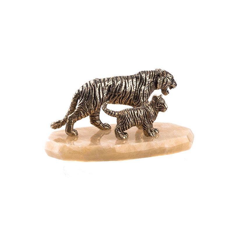 """Статуэтка """"Тигрица и тигрёнок"""""""
