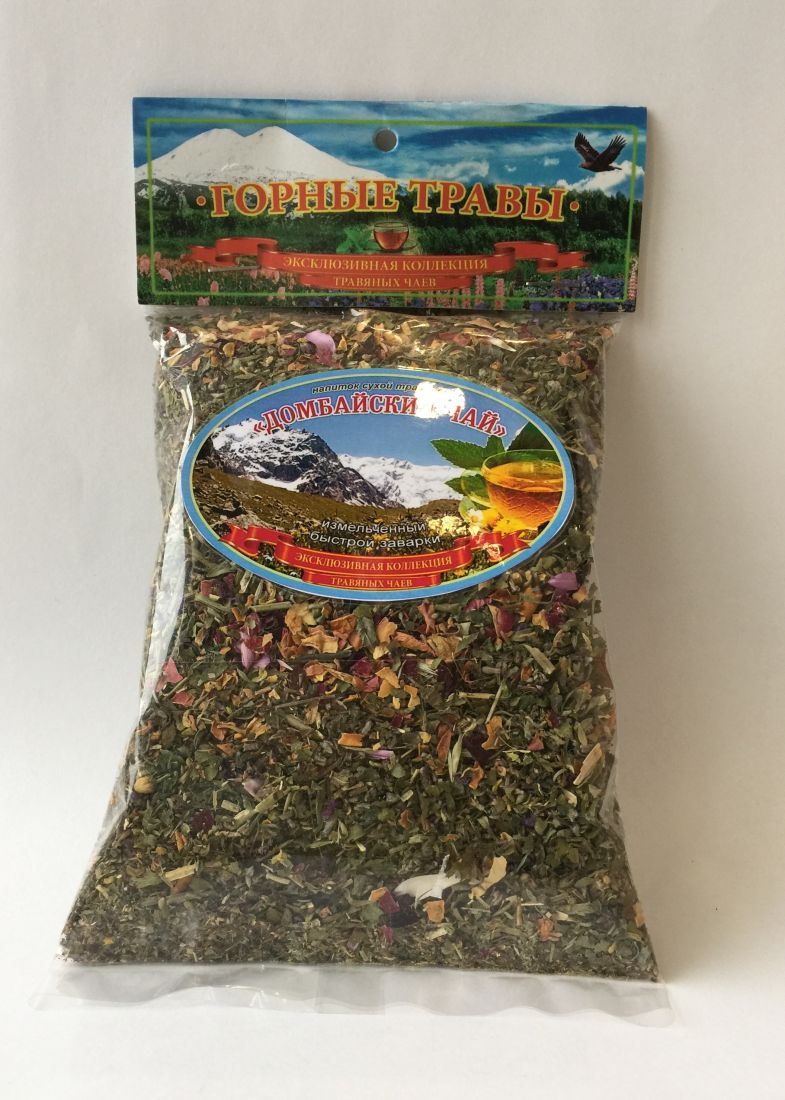Травяной чай Домбайский чай - 100 гр