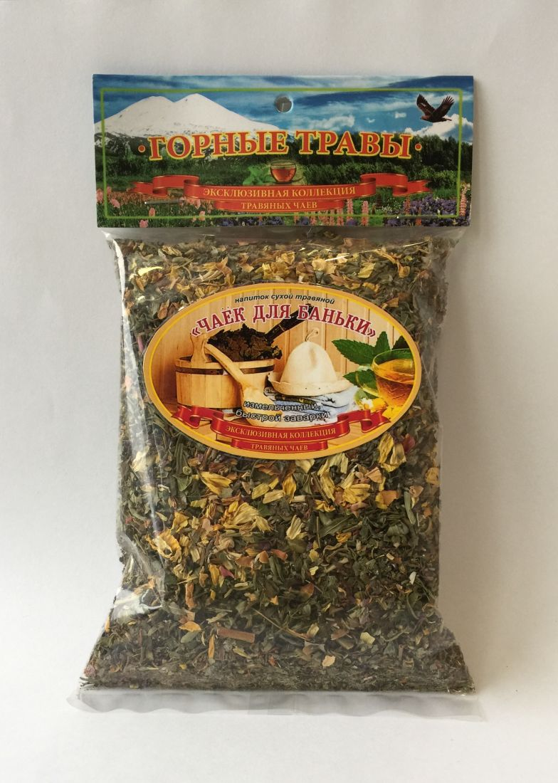 Травяной чай для баньки - 100 гр