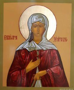 Икона Святой блаженной Ксении Петербургской.