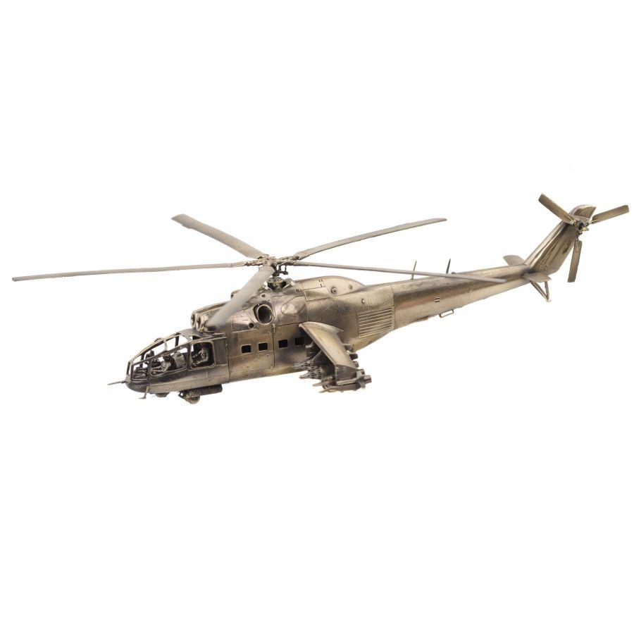 Российский ударный вертолет МИ-24А (1:72)