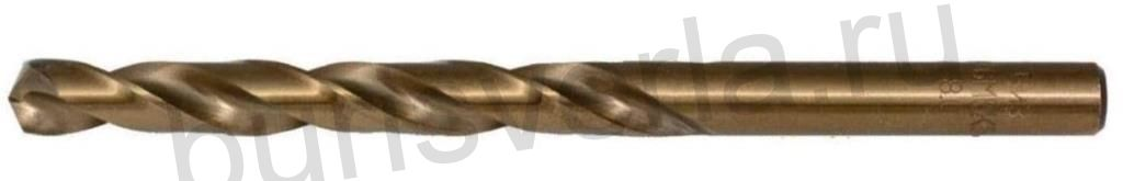 Сверло по металлу 10 мм, Р6М5К5