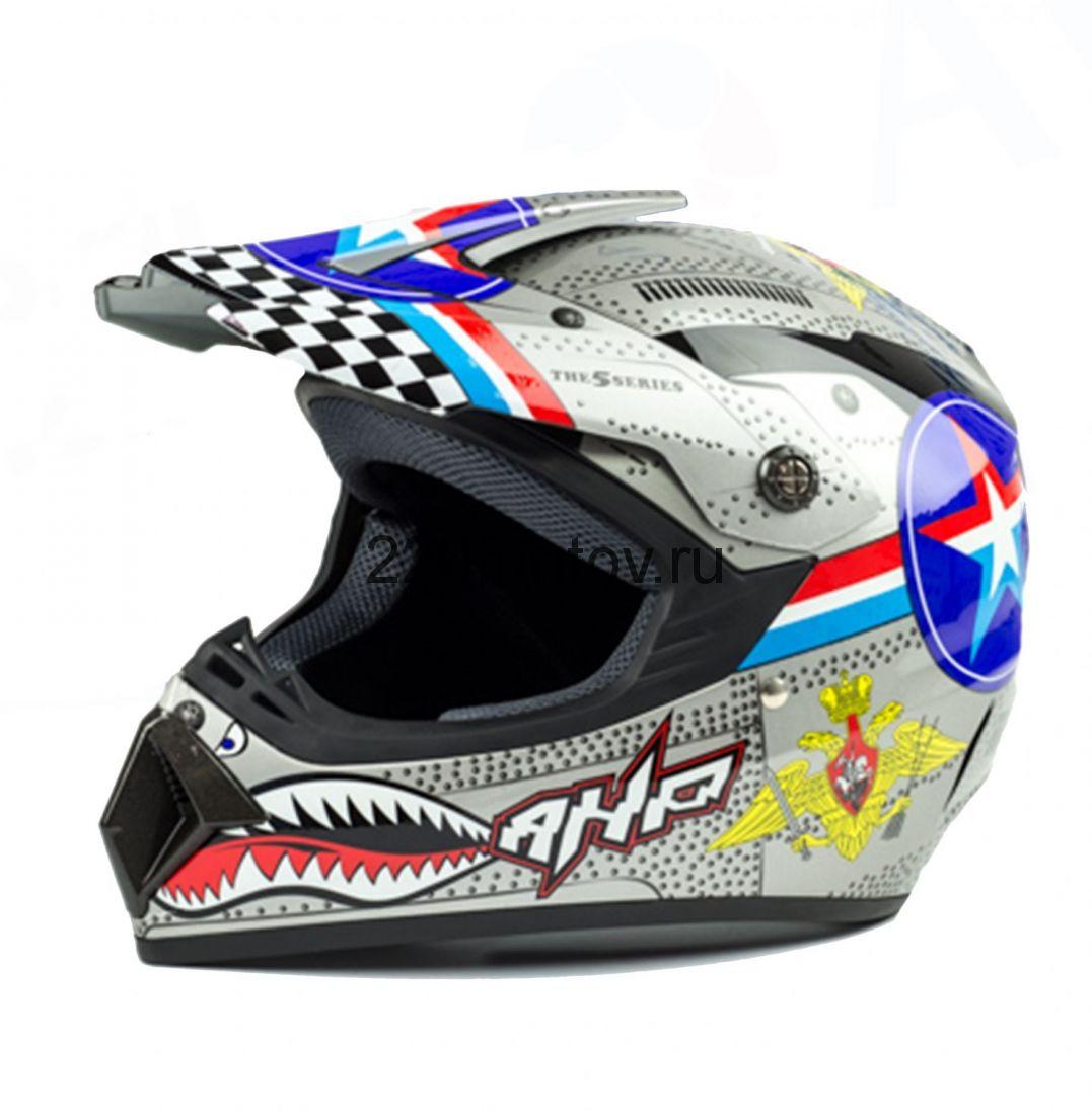Шлем кроссовый Tiane Russia