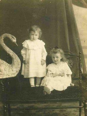 Митя и Лена Кабалевские, Луганск 1907/1908 г.г.