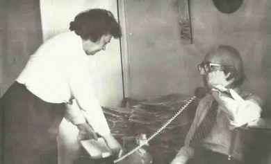 Д.Б. Кабалевский с женой Ларисой Павловной (1987г.)