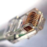 Обжим сетевого кабеля 1 точка