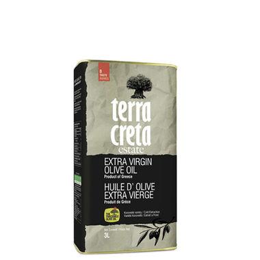 Оливковое масло Terra Creta - 3 л экстра вирджин