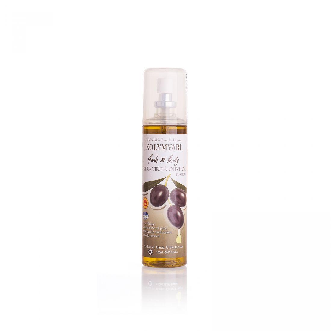 Оливковое масло KOLYMVARI  - 150 л спрей экстра вирджин