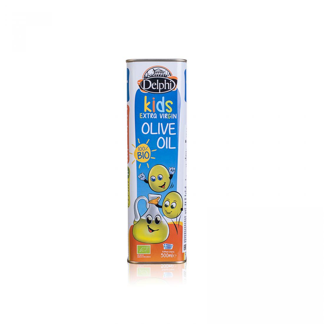 Оливковое масло для детей DELPHI  - 500 мл экстра вирджин