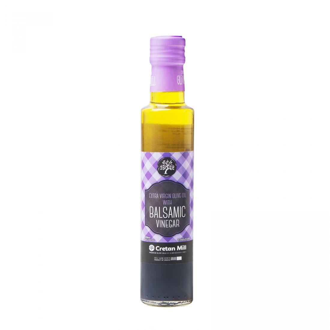 Оливковое масло с уксусом CRETAN MILL  - 250 мл экстра вирджин