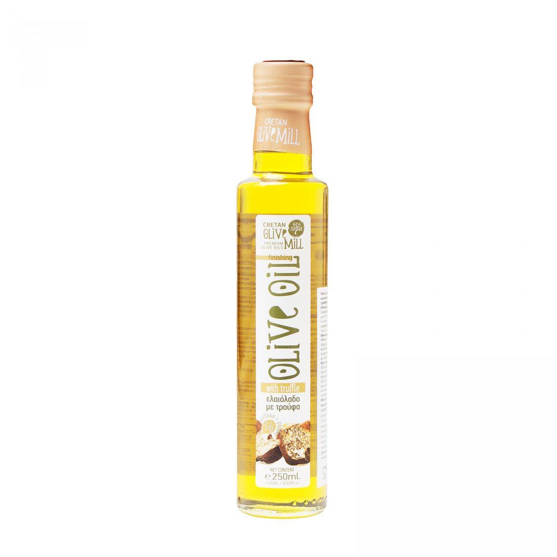 Оливковое масло с трюфелем CRETAN MILL  - 250 мл экстра вирджин
