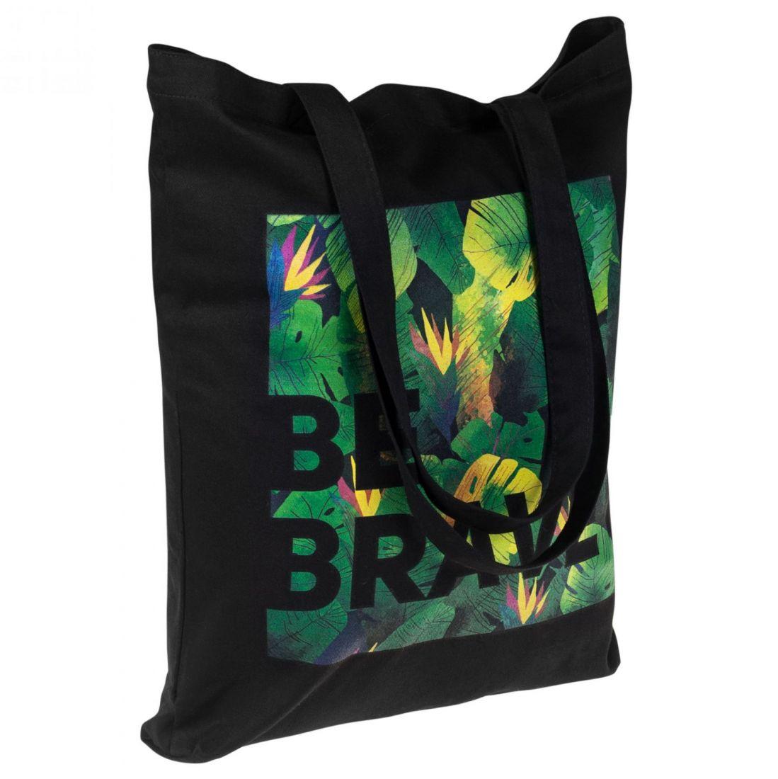 Холщовая сумка «Будь храбрым!»