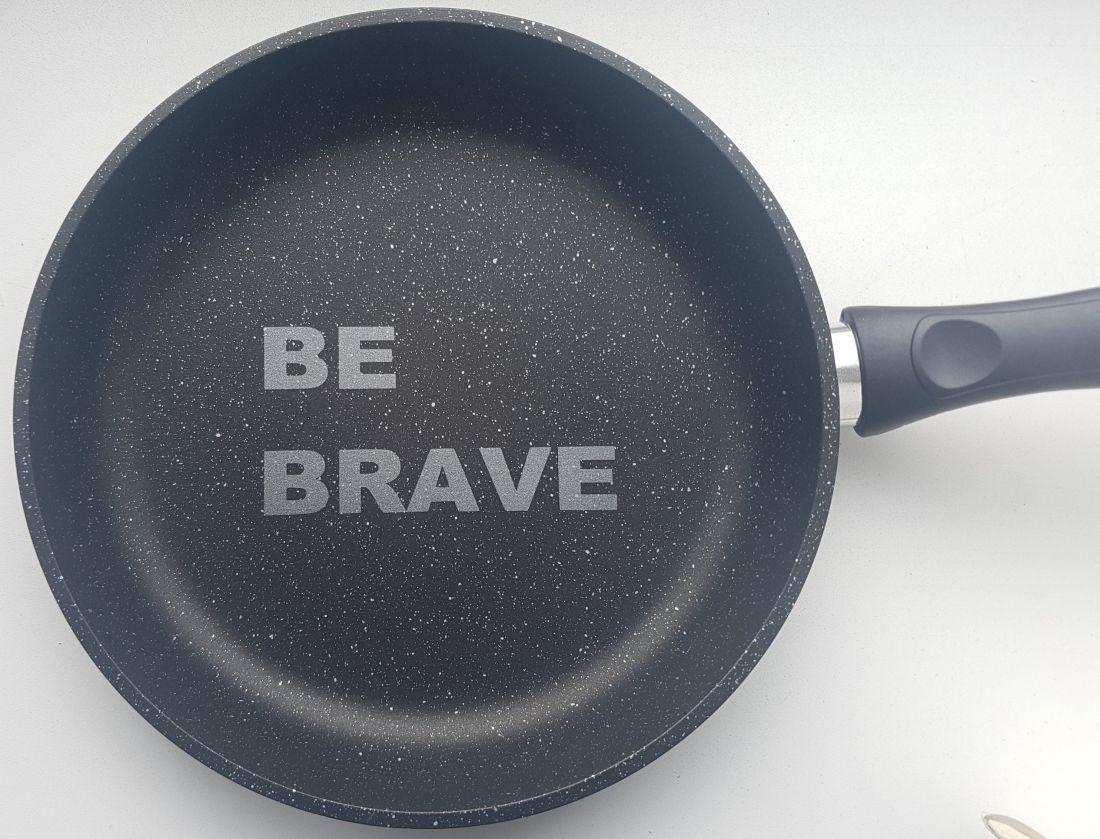 Сковорода 24 см. Be Brave
