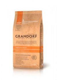 Grandorf DOG Ягненок & Рис д/юниоров всех пород с 4 месяцев, беременных и кормящих сук мелких и средних пород.