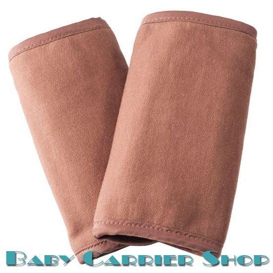 Накладки на ремни для слинг-рюкзака ERGO BABY «TEETHING PADS ORGANIC Mocha» [Эрго Беби TPO211 шоколад]