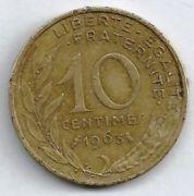 10 сентим. 1963 год.
