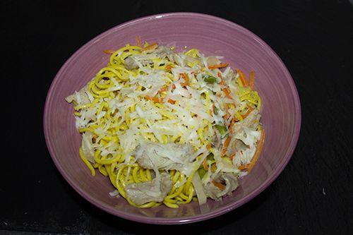 Цыпленок в сливочно-сырном соусе