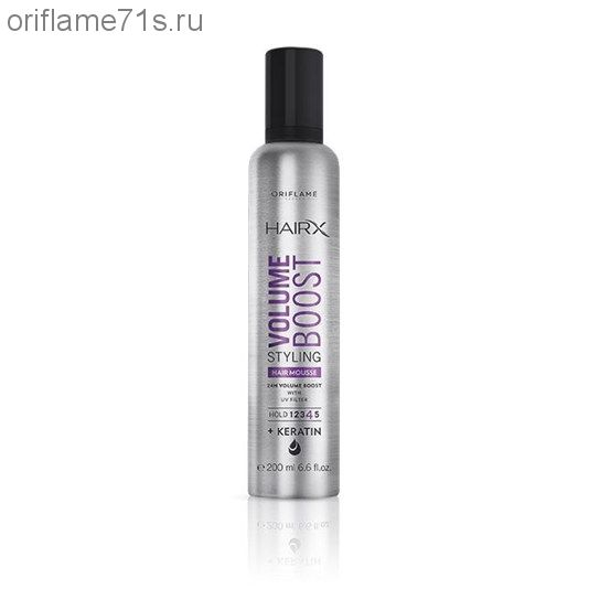 Мусс для укладки волос, придающий объем HairX