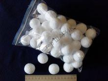 Шарики пенопластовые 3.0 см / 40 шт.