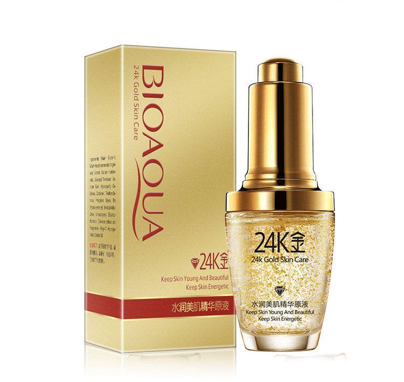 Сыворотка для лица BioAqua 24k Gold
