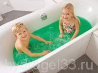 желейная ванна зеленая