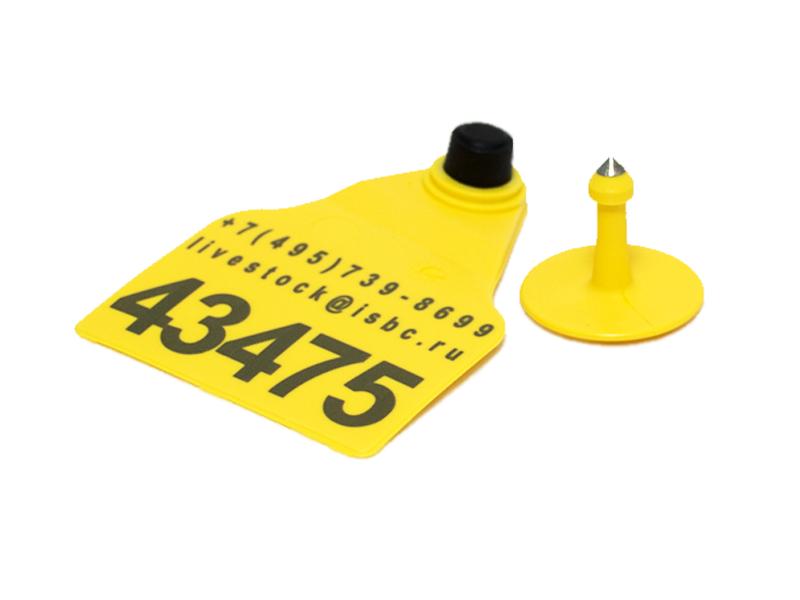 F9S/М2L Комплект визуальных бирок для КРС