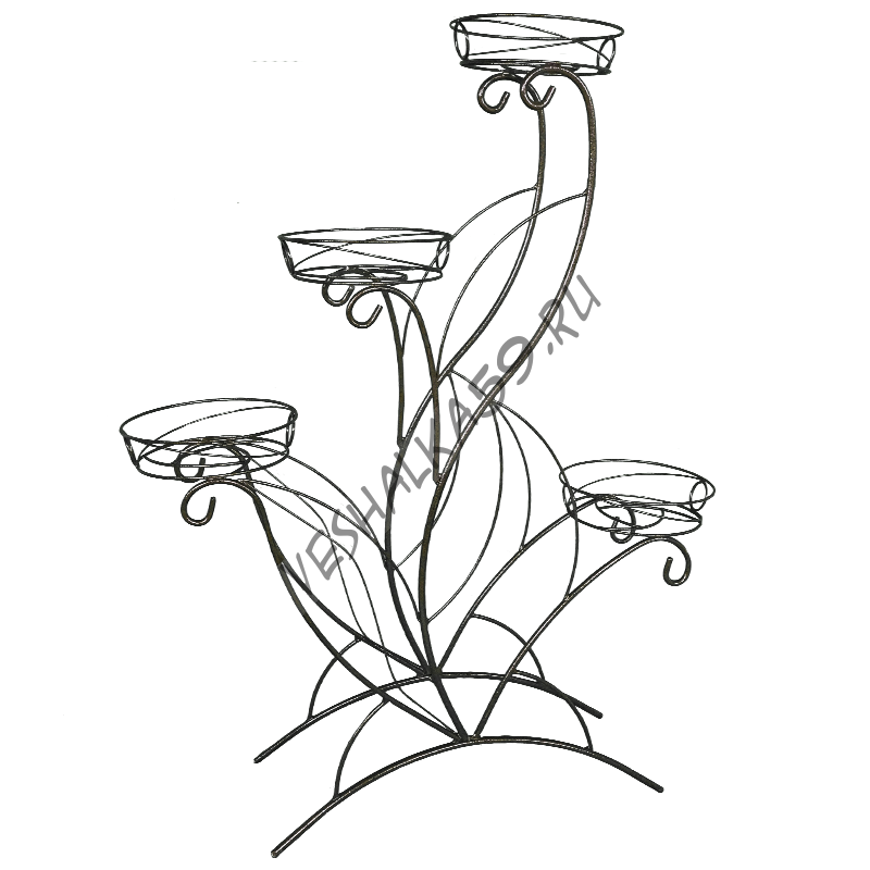 Подставка для цветов Лотос 4