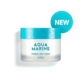 A'PIEU Aqua Marine Mineral Deep Cream 50ml - Глубокоувлажняющий минеральный крем с морской водой