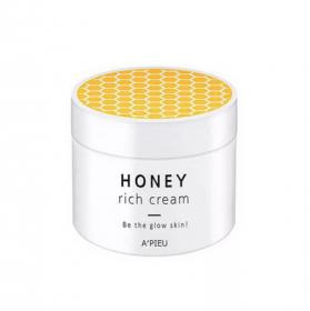 A'PIEU Honey Rich Cream 110ml - Медовый крем для сияния кожи